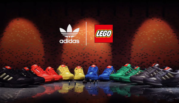 "LEGO x Adidas ZX-8000 ""Color Pack"" : disponible chez Adidas"