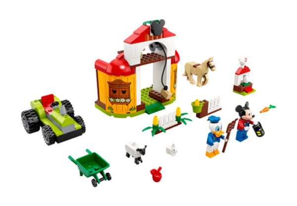 LEGO 10775 Mickey & Friends : Mickey & Donald's Farm