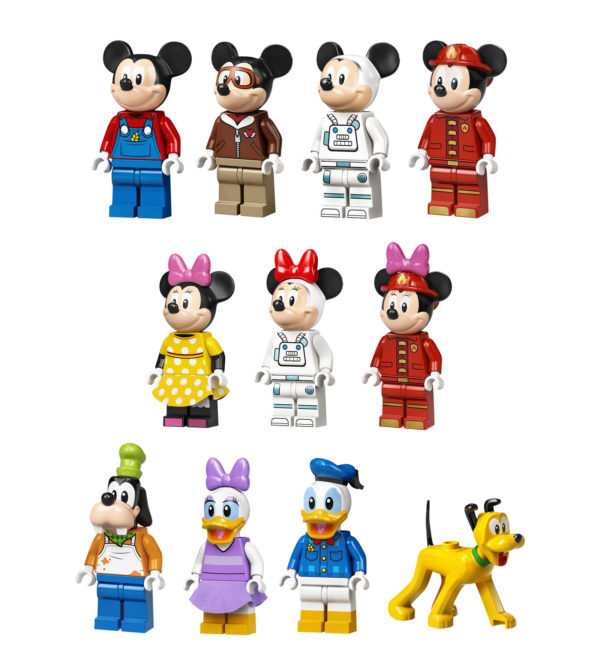 lego disney mickey friends minifigures 2021
