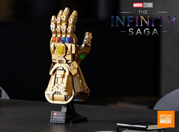 LEGO Marvel The Infinity Saga 76191 Infinity Gauntlet