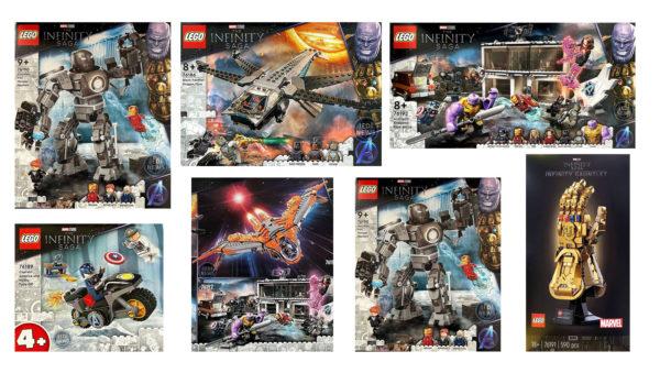 lego marvel infinity saga new sets summer 2021 1