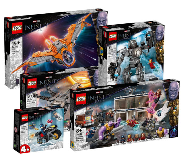 lego marvel infinity saga new sets summer 2021 amazon 3