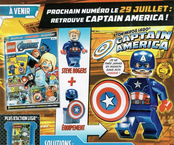 Magazine LEGO Marvel Avengers - Juillet 2021