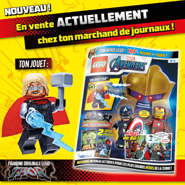 Magazine LEGO Marvel Avengers - Mai 2021