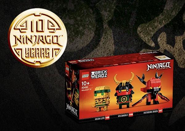 LEGO BrickHeadz 40490 Ninjago 10