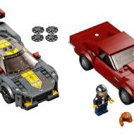 76903 Chevrolet Corvette C8-R Race car and 1968 Chevrolet Corvette