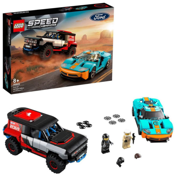 76905 Ford GT Heritage Edition & Bronco R