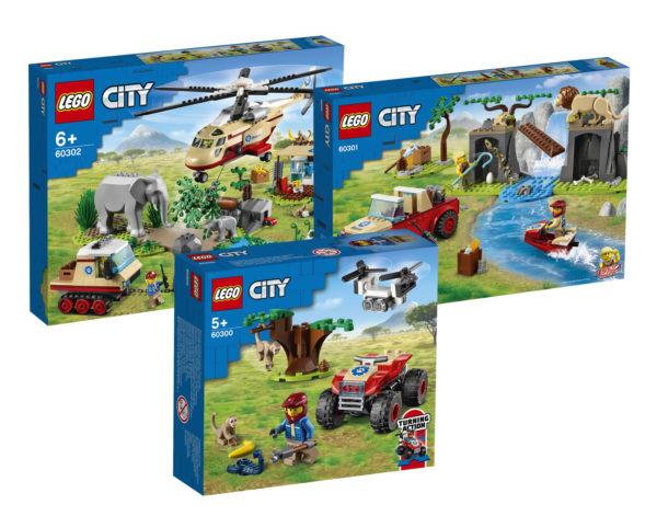 Nouveautés LEGO CITY du second semestre 2021