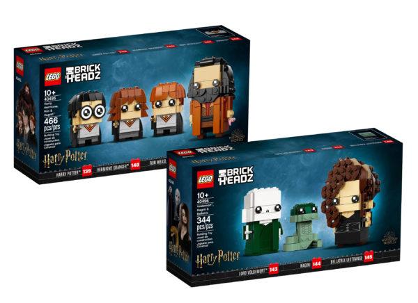 new lego harry potter brickheadz june 2021 1