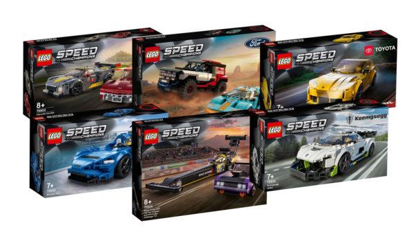 Nouveautés LEGO Speed Champions 2021