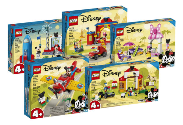 new sets lego mickey friends 2021