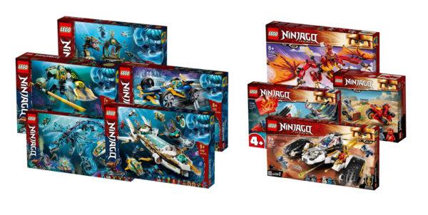 Nouveautés LEGO Ninjago du second semestre 2021