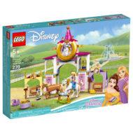 43195 lego disney belle rapunzel royal stables 1