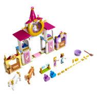 43195 lego disney belle rapunzel royal stables 2