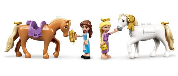 43195 lego disney belle rapunzel royal stables 4