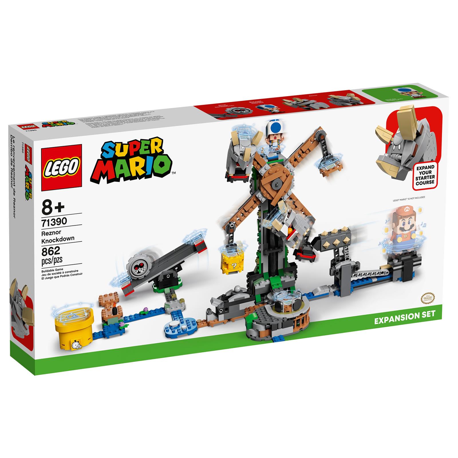 Nintendo s'associe avec LEGO ! - Page 5 71390-lego-super-mario-reznor-knockdown-1