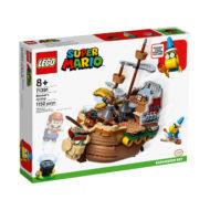 71391 lego super mario bowser airship box