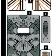 75310 lego starwars duel mandalore sticker sheet