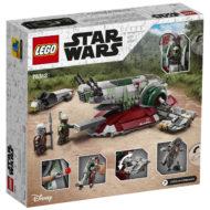75312 lego starwars boba fett starship box back