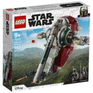 75312 lego starwars boba fett starship box front