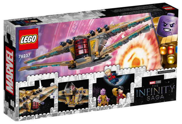 LEGO Marvel Infinity Saga 76237 Sanctuary II : Endgame Battle