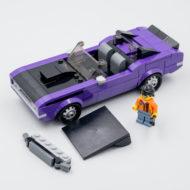 76904 lego speed champions mopar dragster dodge challenger 11