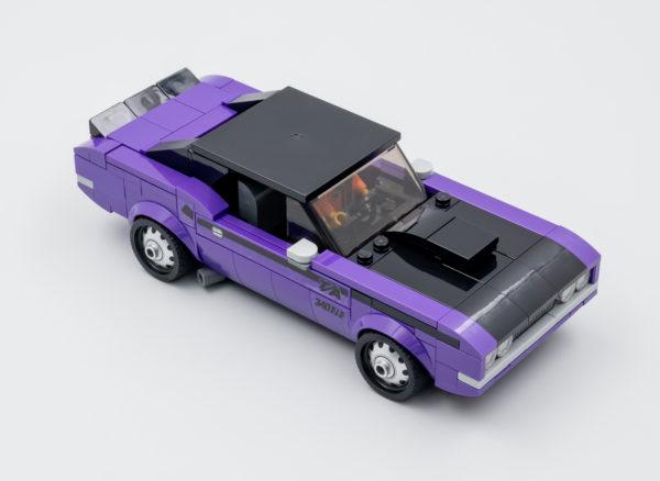76904 lego speed champions mopar dragster dodge challenger 12