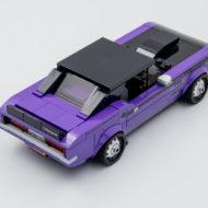 76904 lego speed champions mopar dragster dodge challenger 13