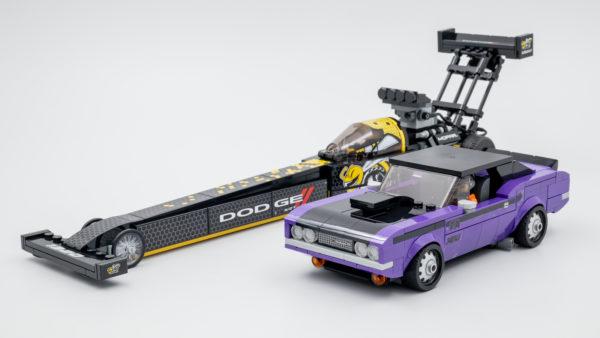 76904 lego speed champions mopar dragster dodge challenger 15