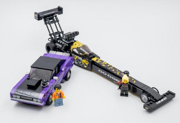 76904 lego speed champions mopar dragster dodge challenger 18
