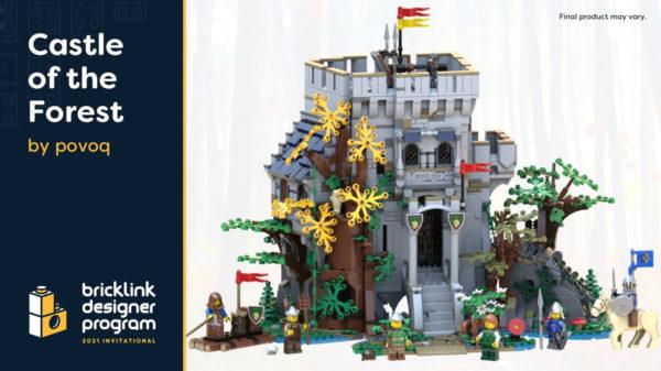 bricklink designer program 2021 castle forest