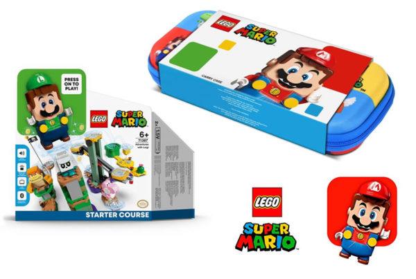 fnac lego super mario bonus precommande 71387 adventures with luigi 2 1