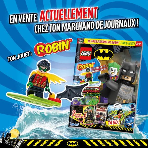 lego batman magazine juin 2021 robin