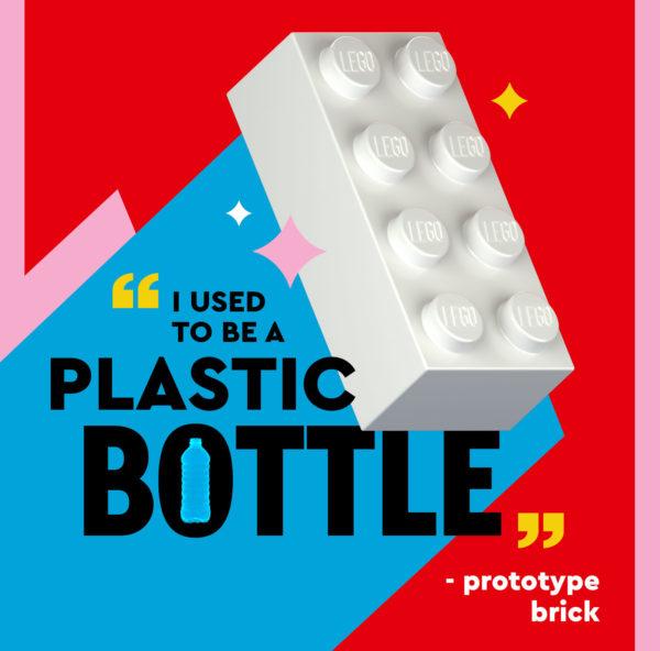 lego bricks from recycled plastic bottles