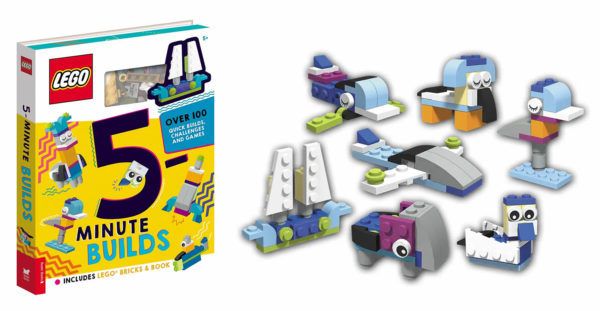 lego iconic five minutes builds book 2021
