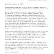 lego ideas 21327 typewriter letter french