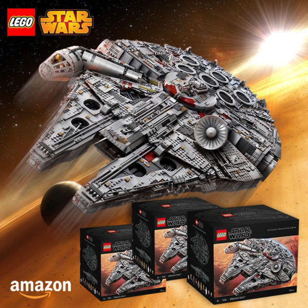 lego starwars 75192 millennium falcon amazon offer juin 2021