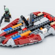 lego starwars 75312 boba fett starship slave I 1