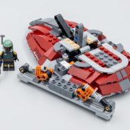 lego starwars 75312 boba fett starship slave I 2