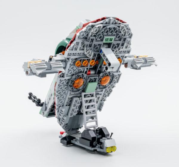 lego starwars 75312 boba fett starship slave I 8 1