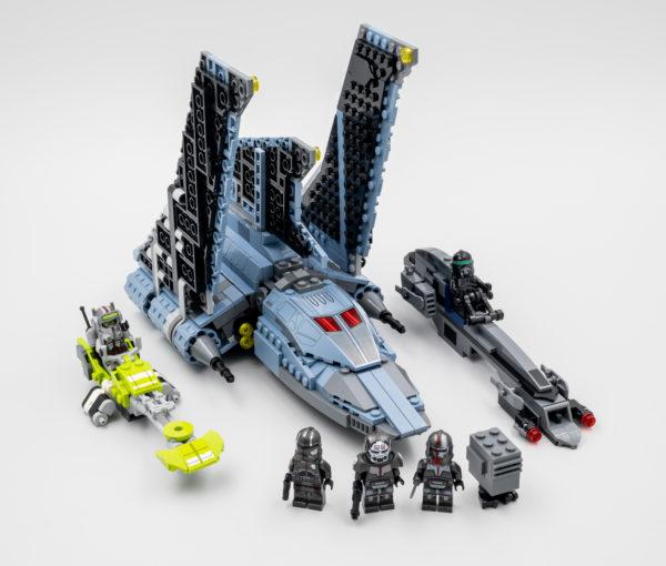 lego starwars 75314 bad batch attack shuttle 1