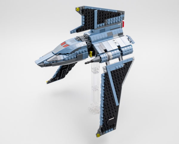 lego starwars 75314 bad batch attack shuttle 8