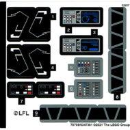 lego starwars 75315 imperial light cruisersticker sheet