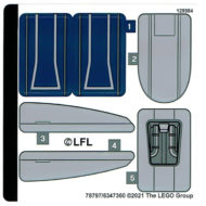 lego starwars 75316 mandalorian starfighter sticker sheet