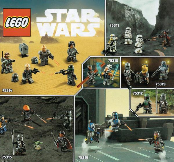lego starwars minifigures 2h 2021