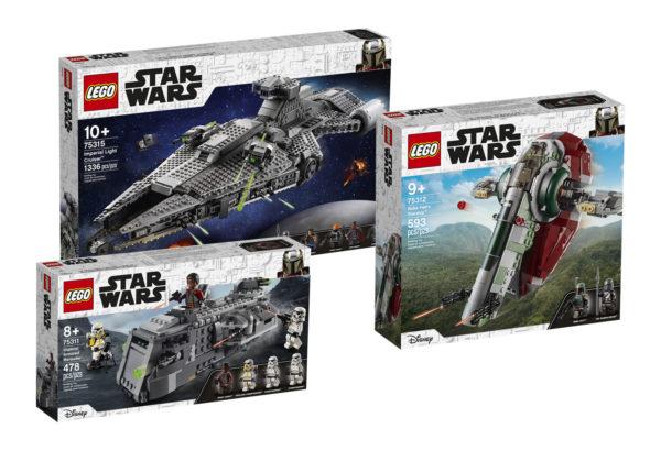 new lego starwars 75311 75312 75315 summer 2021