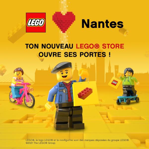 ouverture lego certified store nantes atlantis juillet 2021 teaser