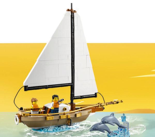 40487 lego ideas dream hjoliday sailboat gwp aout 2021
