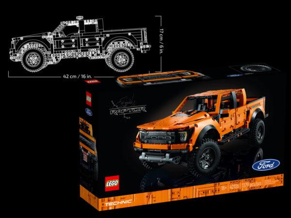 42126 lego ford raptor f150 precommande shop juillet 2021