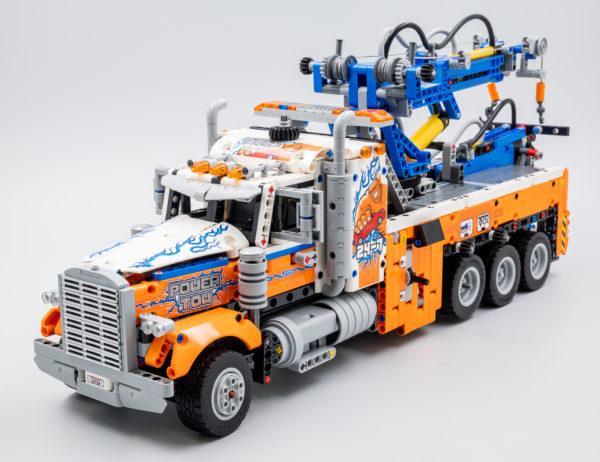 42128 lego technic heavy duty tow truck 6